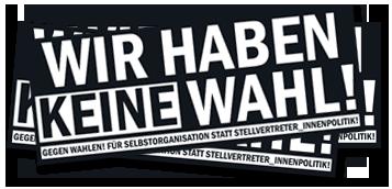 Anti Wahl Kampagne 2009